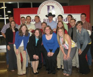 My closest friends at the 2009 Block & Bridle banquet.