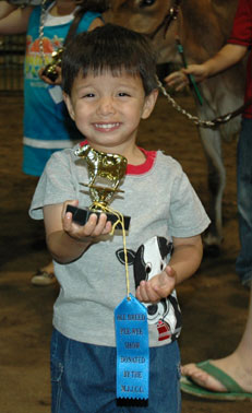 One of the PeeWee showmen.
