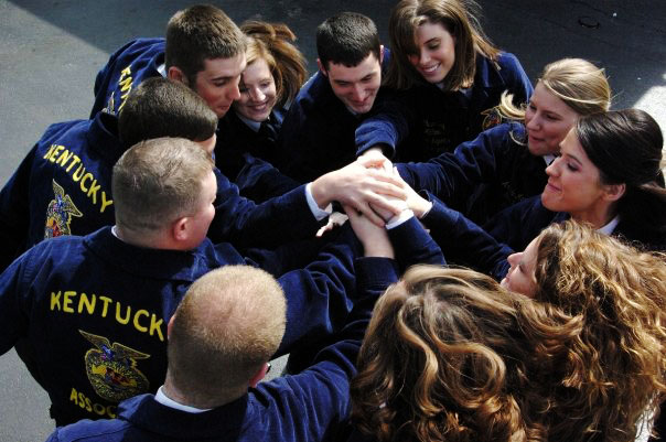 The 2007-2008 Ky FFA State Officers