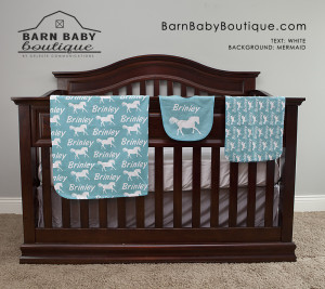 barn baby boutique horse gift set