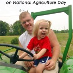 Advice for my daughter's generation on National Agriculture Day